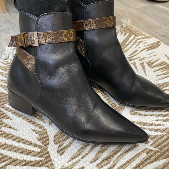 Louis Vuitton booties